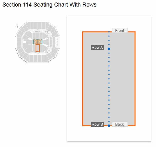 Charlotte Hornets Spectrum Center Seating Chart