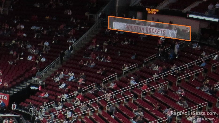 Section 116 Row WC at Toyota Center