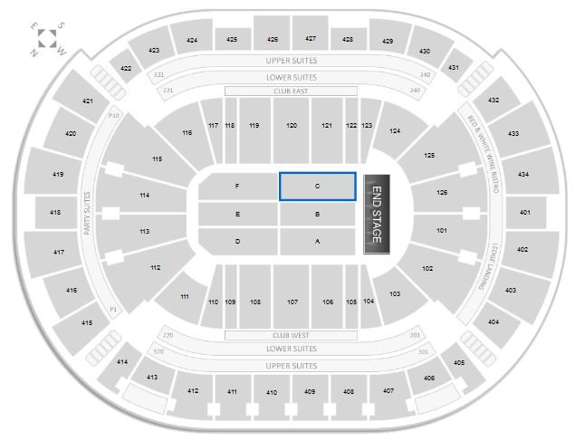 Toyota Center Concert Seating Chart Amp Interactive Map