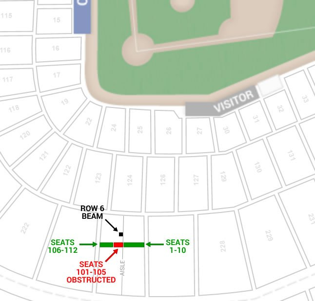 21 Images Cubs Seating Chart With Seat Numbers