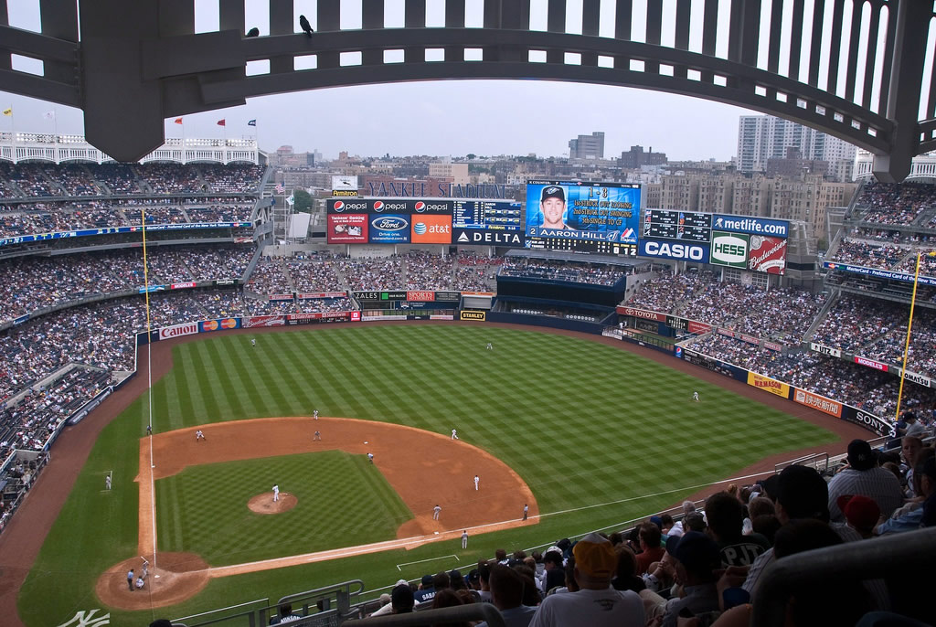 Which Sections At Yankee Stadium Are Covered