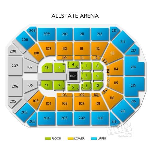 Allstate Arena Floor Plan: Allstate Arena Tickets Allstate Arena Information .html