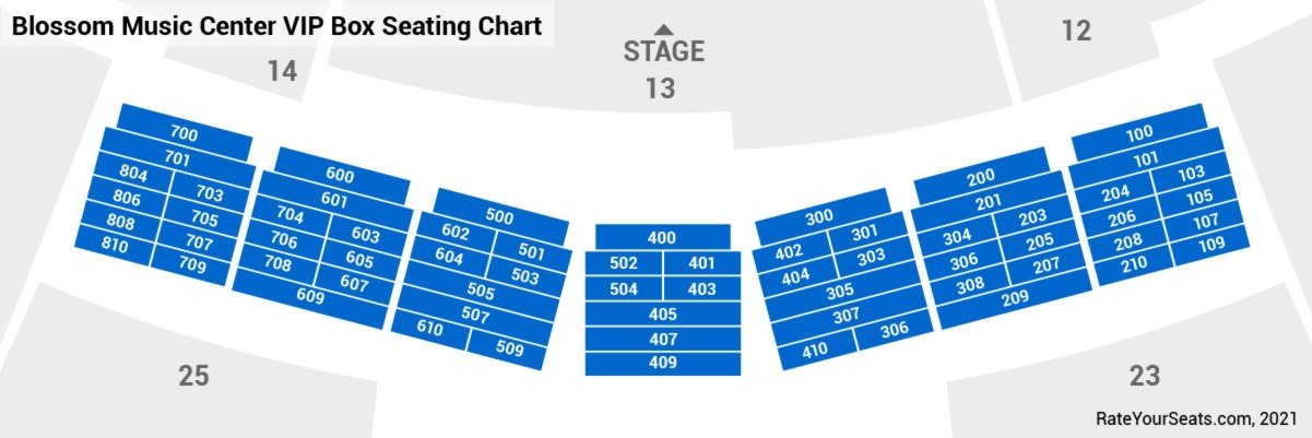 Bo Seating Chart