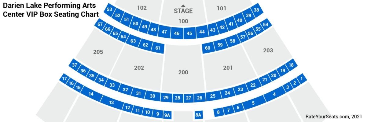 Darien Lake Performing Arts Center Boxes Rateyourseatscom