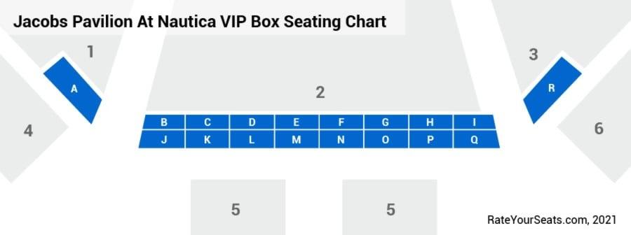 Box Seats Seating Chart