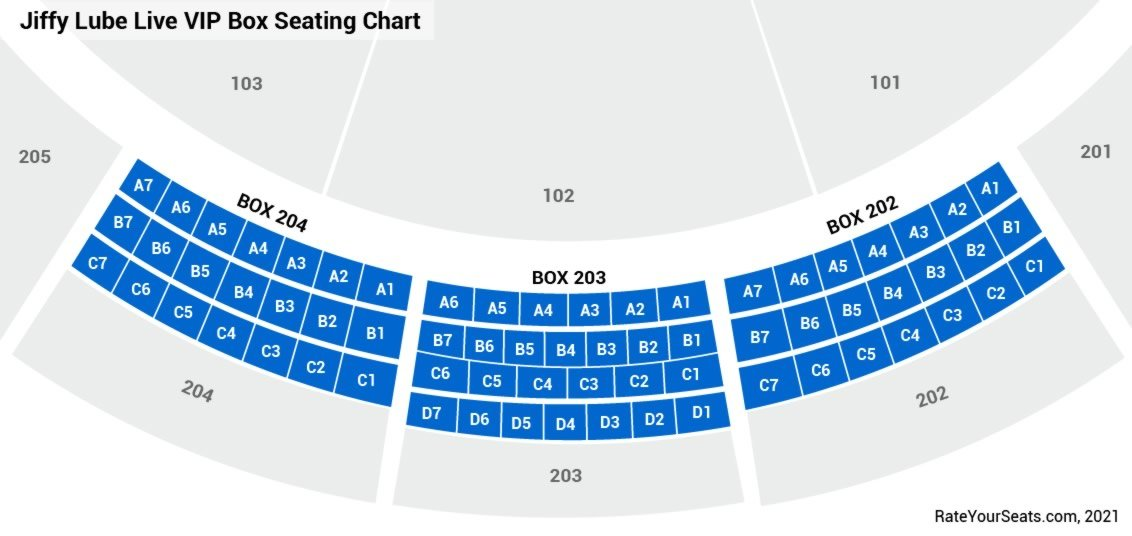 Jiffy Lube Live  seating chart