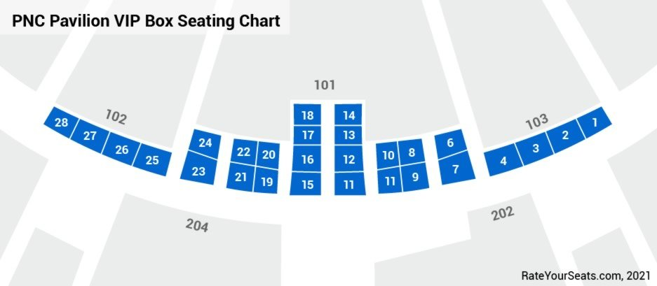 Box Suites Seating Chart
