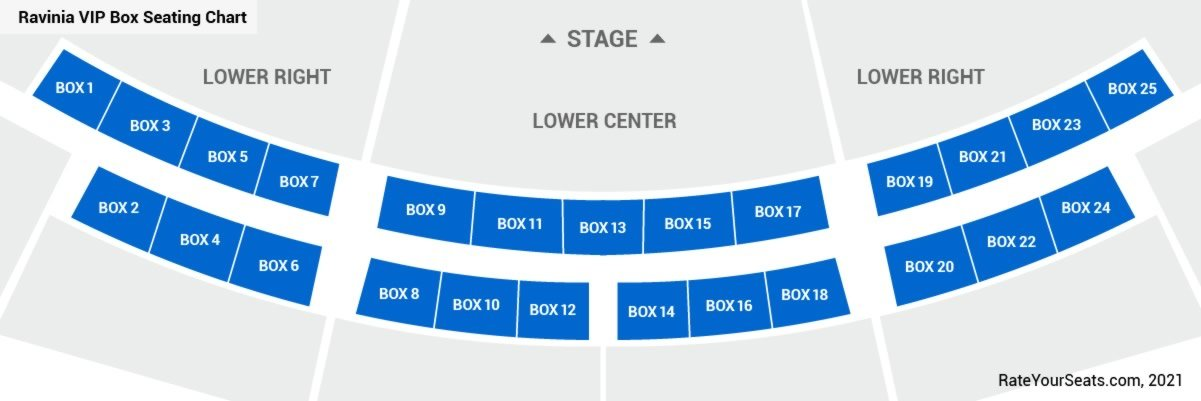 Ravinia Festival Seating Chart Seating Charts Tickets