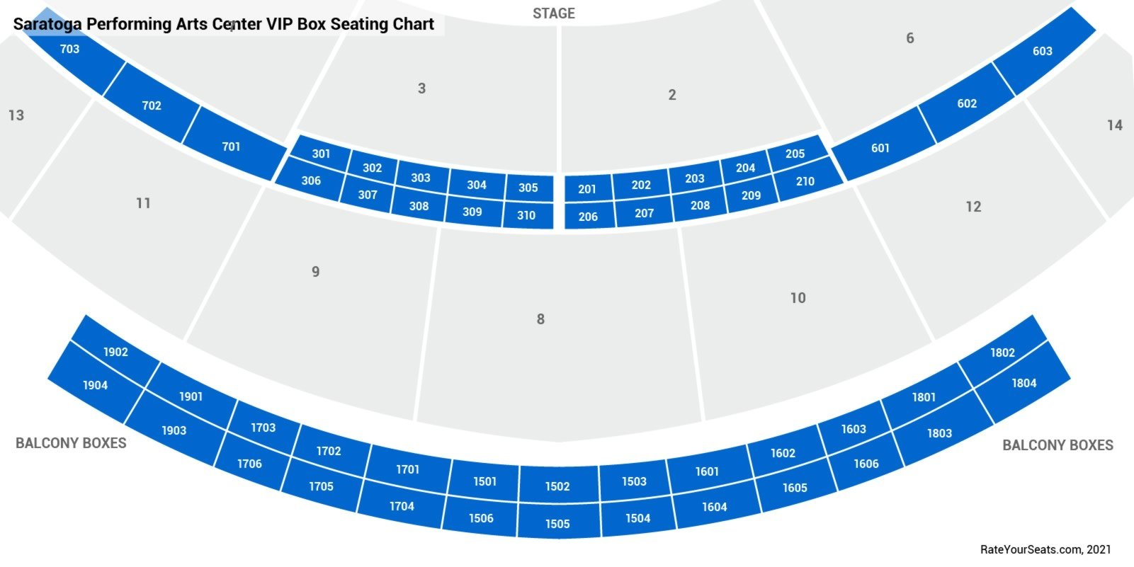 Saratoga performing arts center box seats rateyourseats com