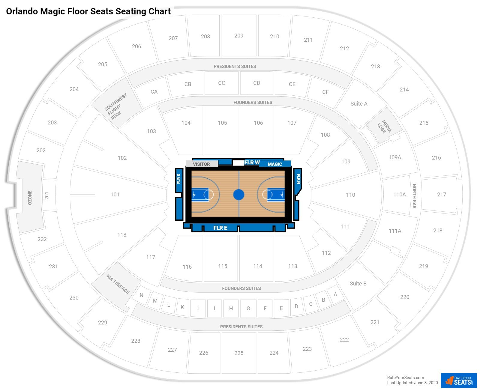 Club And Premium Seating At Amway Center