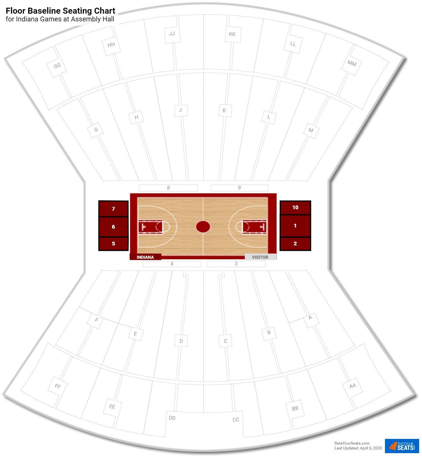 Embly Hall Floor Baseline Seating Chart