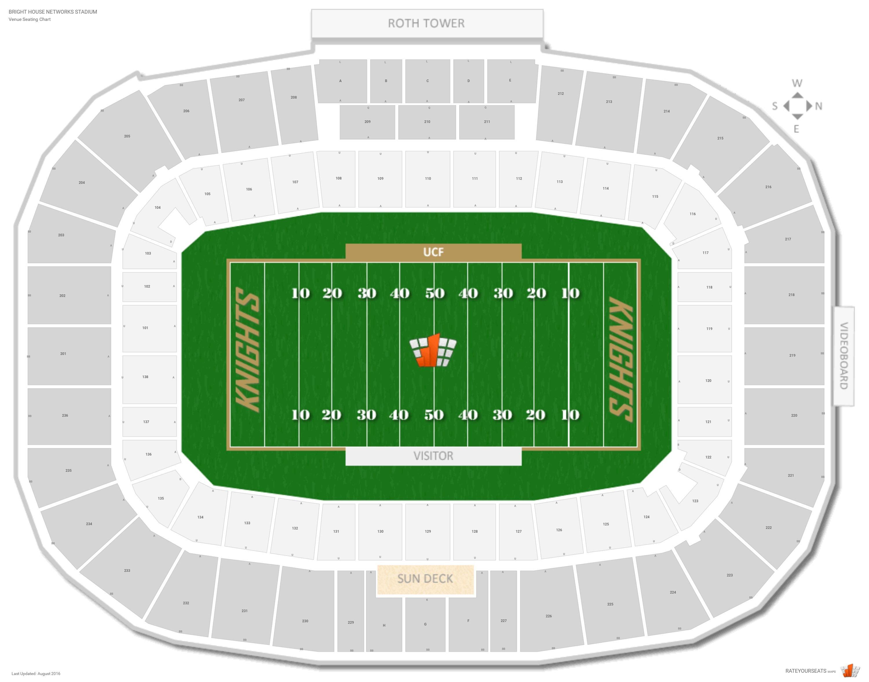 Spectrum Stadium  Ucf  Seating Guide