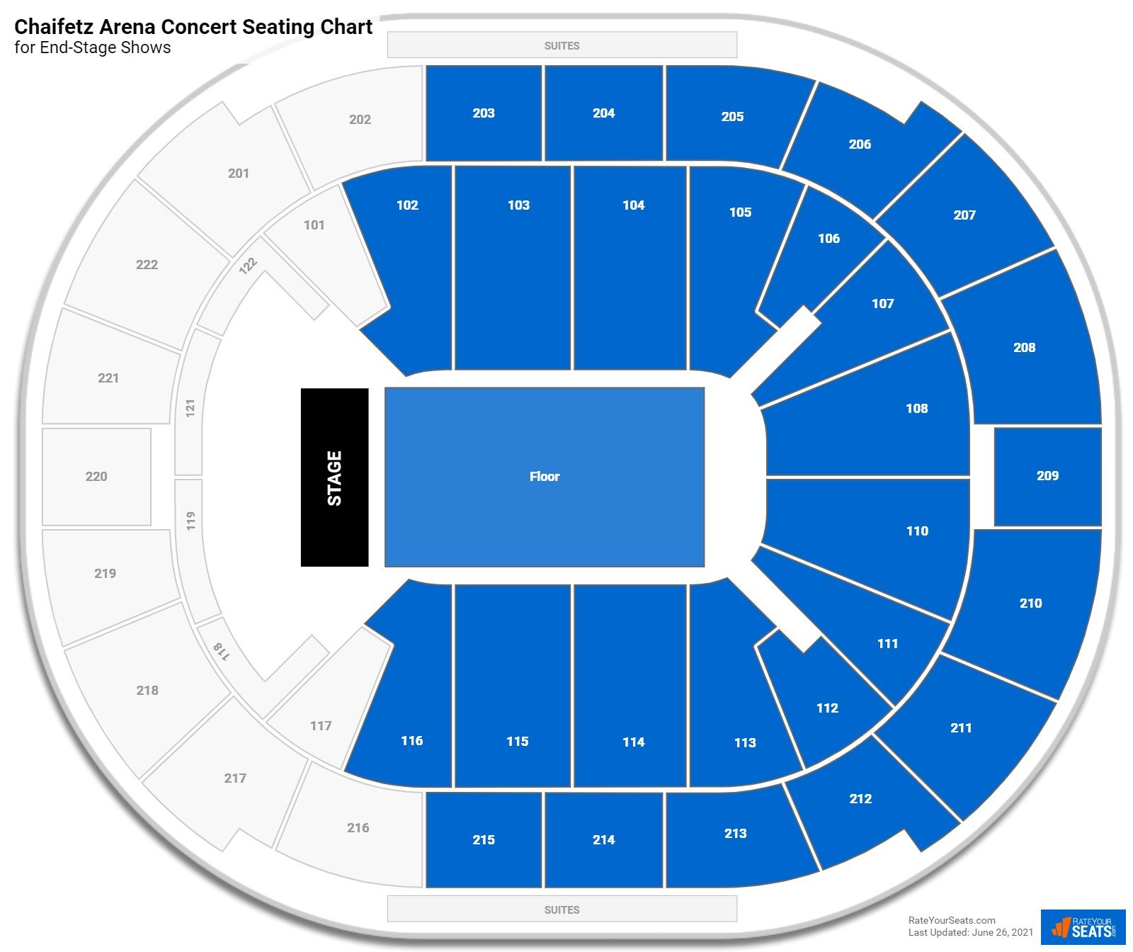 Chaifetz Arena Seating Chart for Concerts