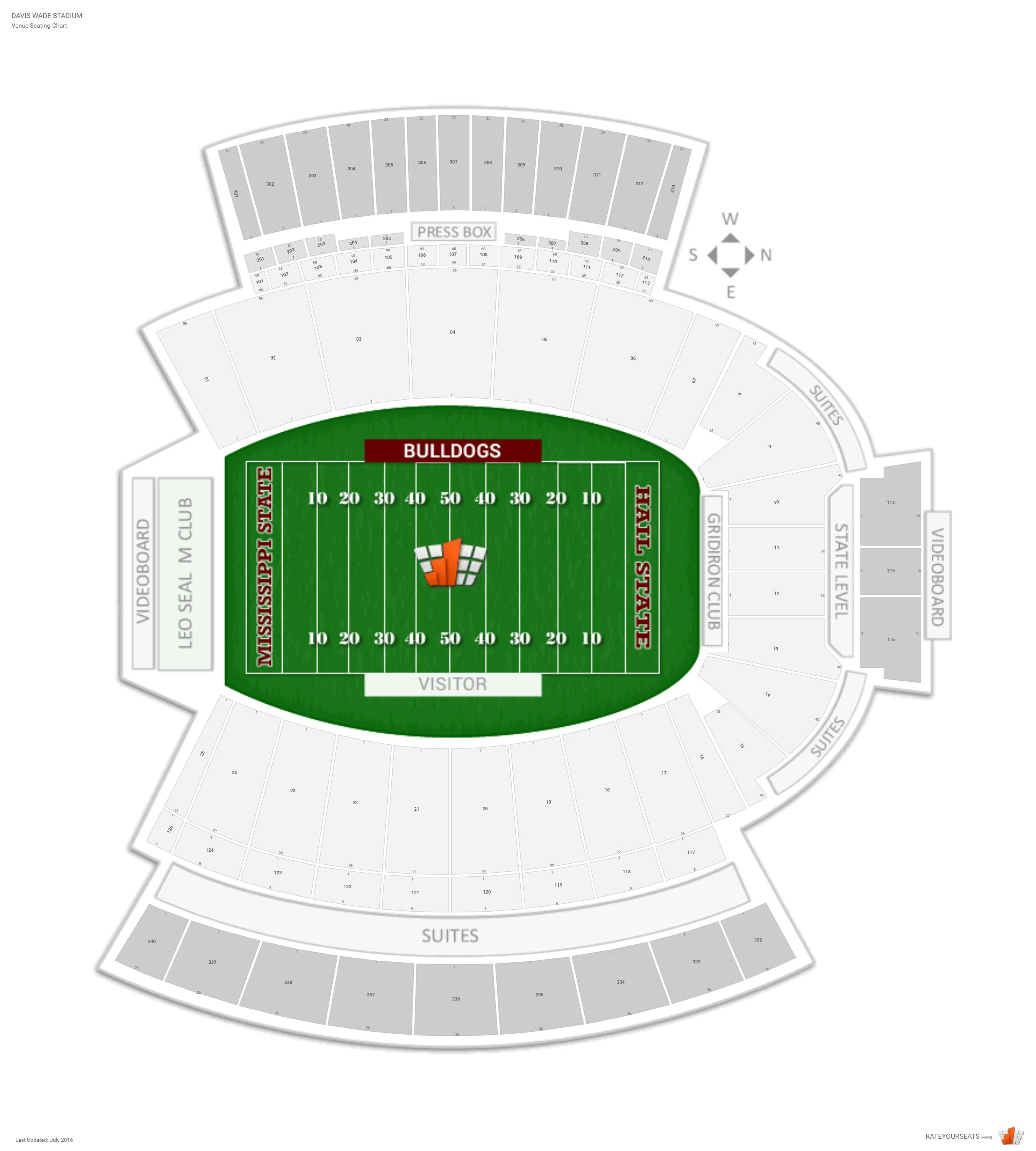 100 at t stadium seating chart mercedes benz for Mercedes benz stadium virtual seating