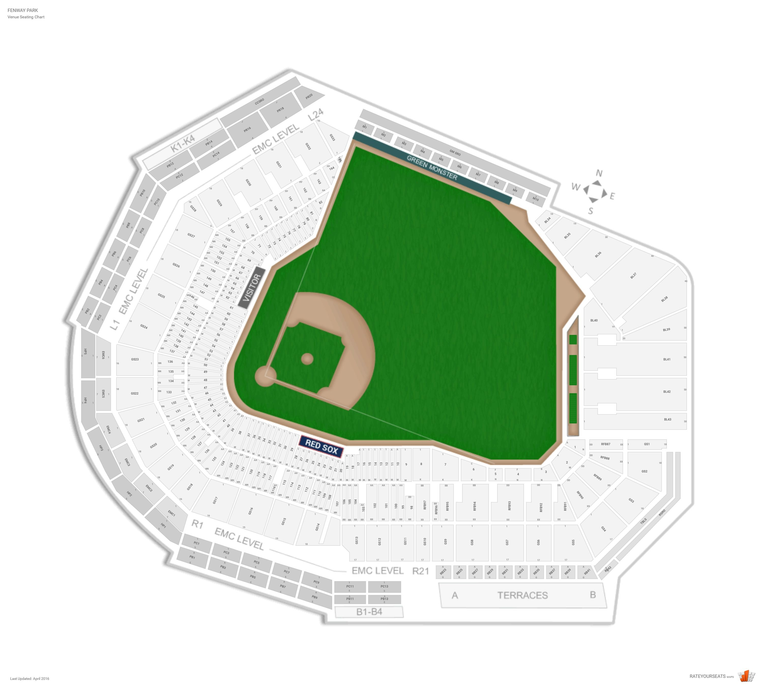 fenway park seating chart row numbers. Black Bedroom Furniture Sets. Home Design Ideas