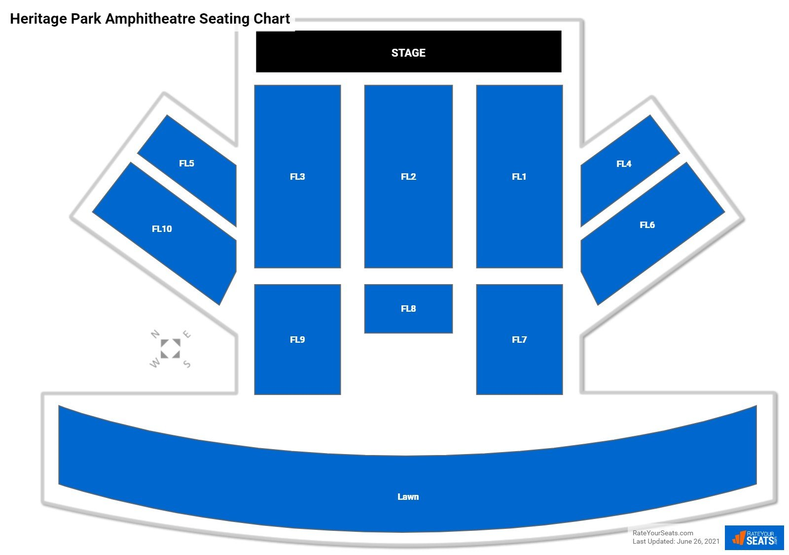 Heritage Park Amphitheatre Seating Chart