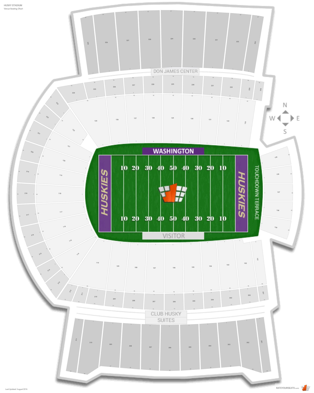 Husky Stadium Washington Seating
