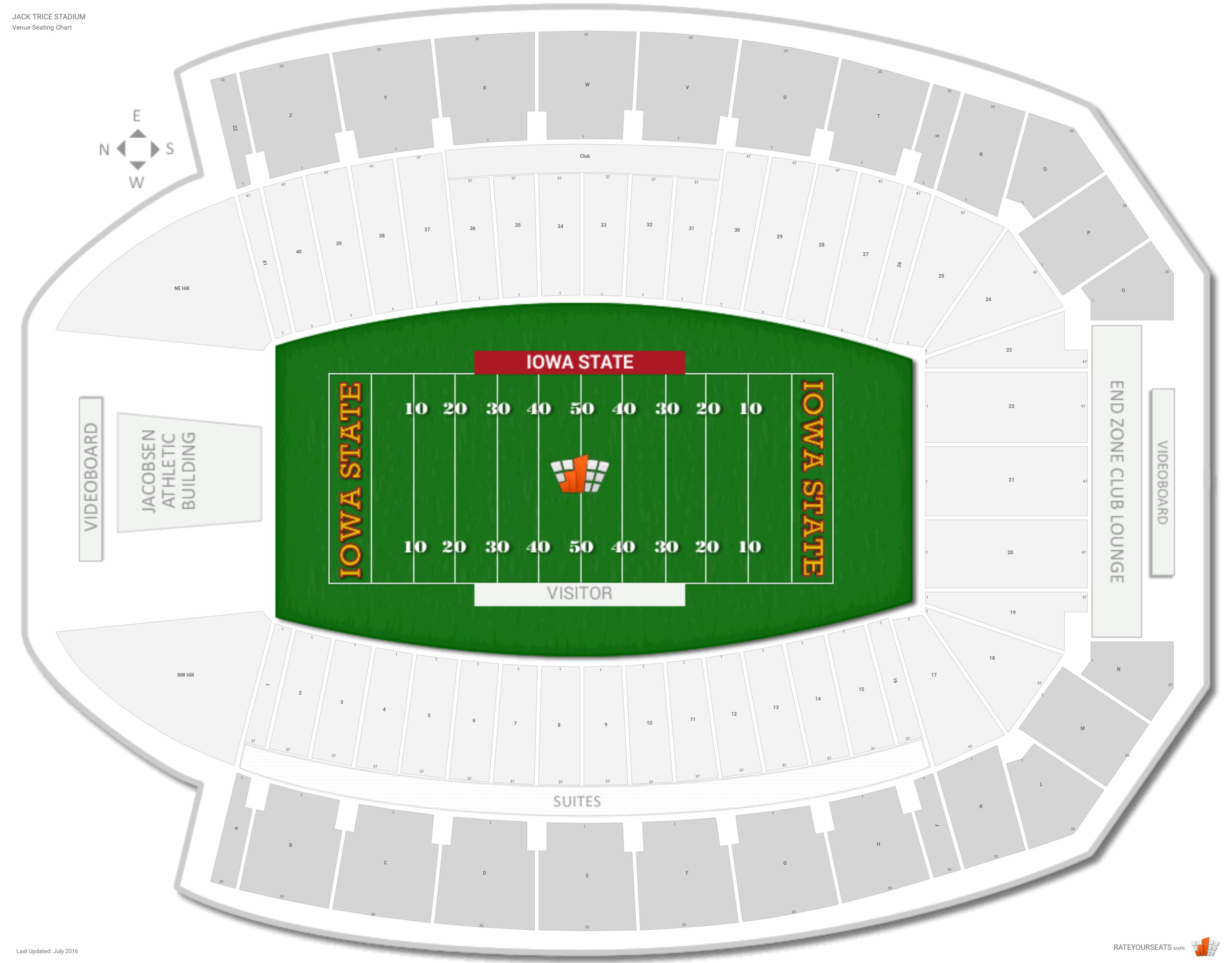 Jack trice stadium seating chart carnaval jmsmusic co