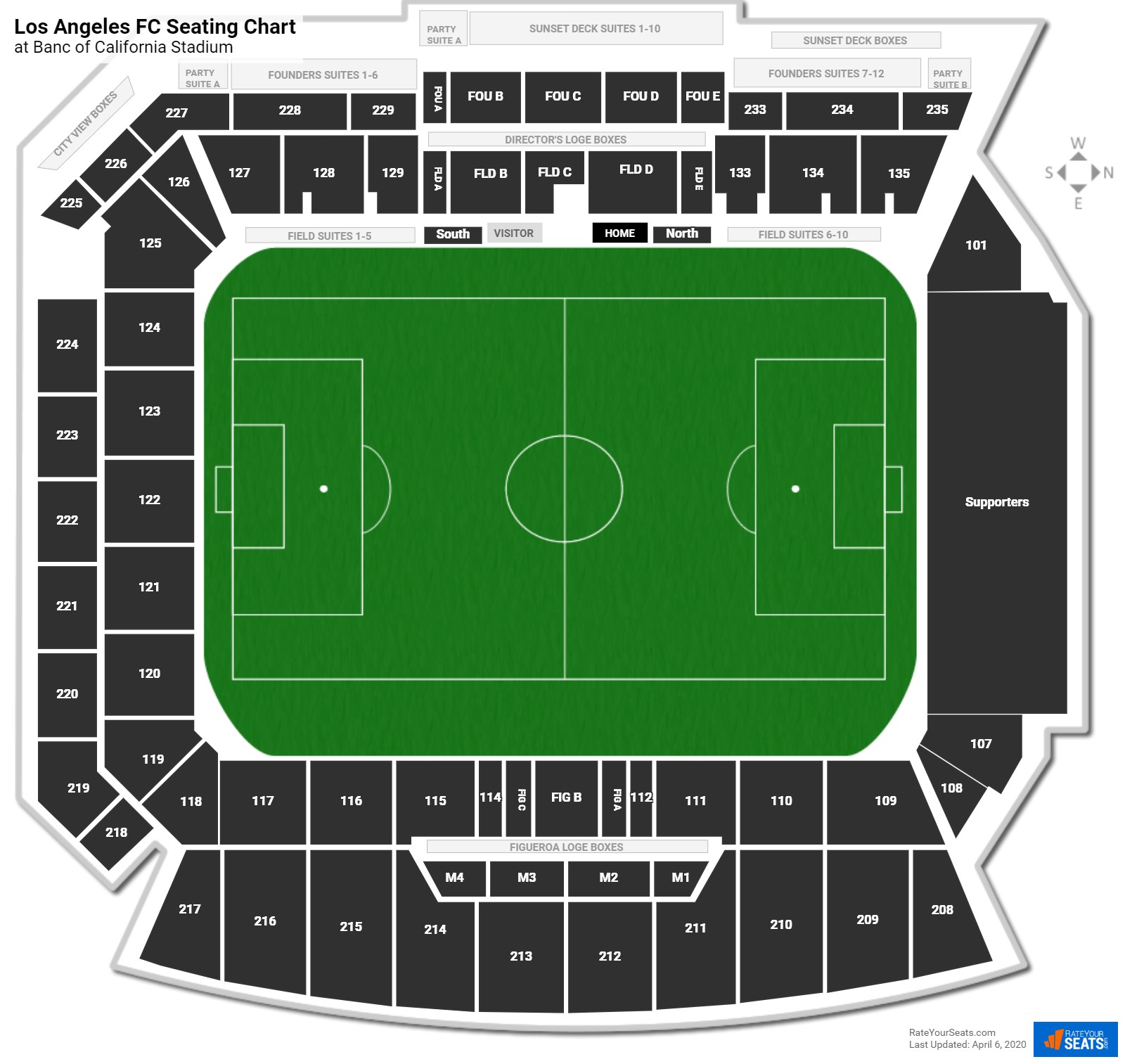 Los Angeles FC Seating Chart