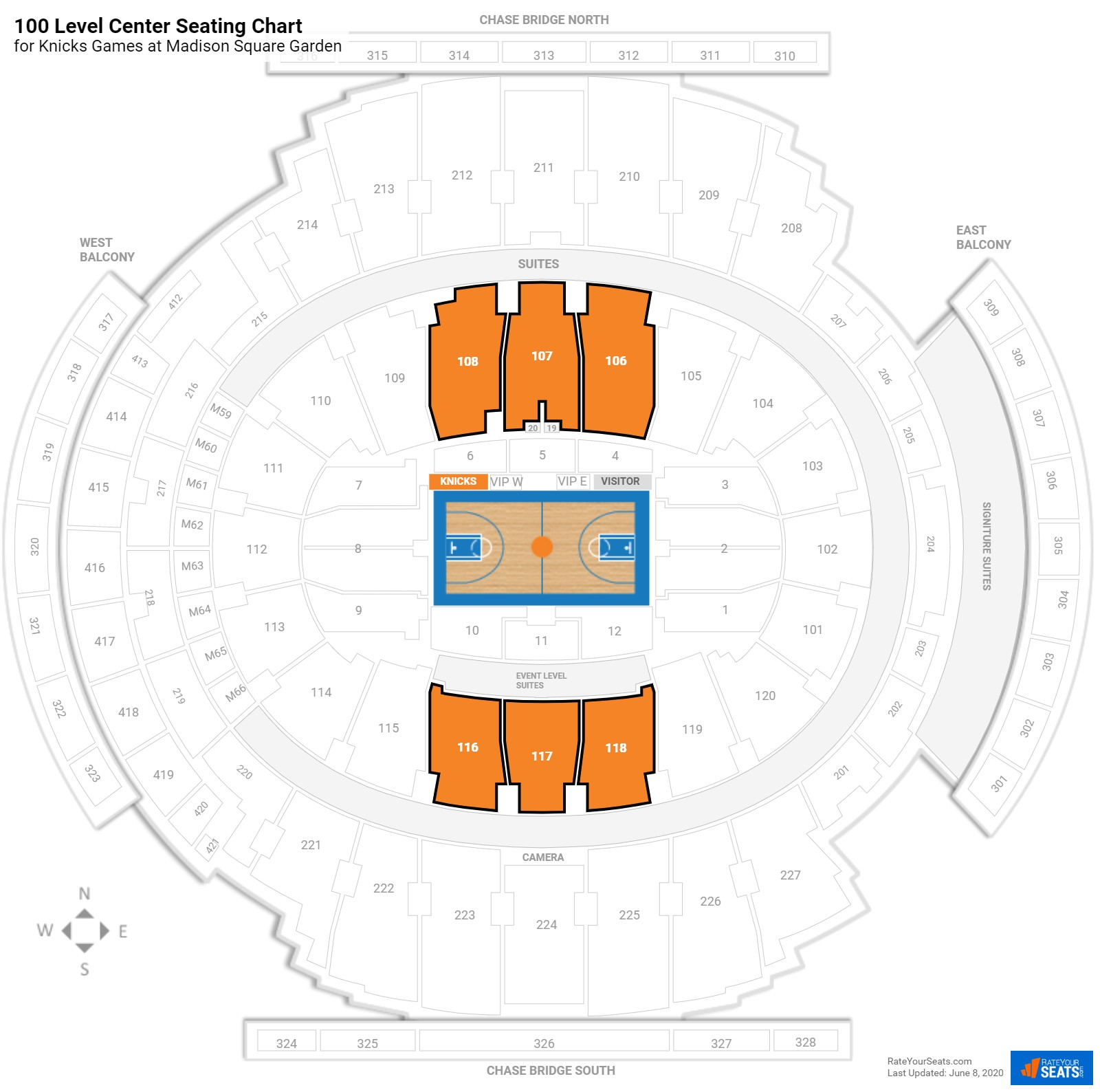 Madison Square Garden Seating Chart Big Ten Tournament Awesome Home