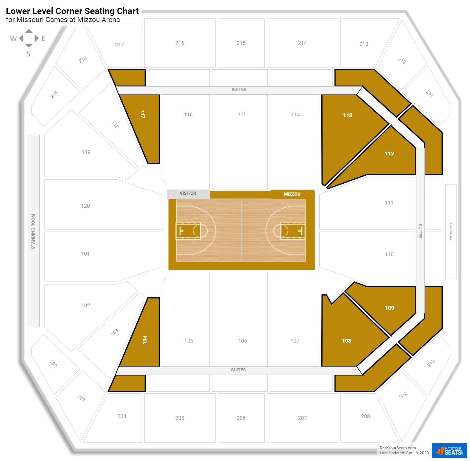 Mizzou Stadium Seating Chart Brokeasshome Com