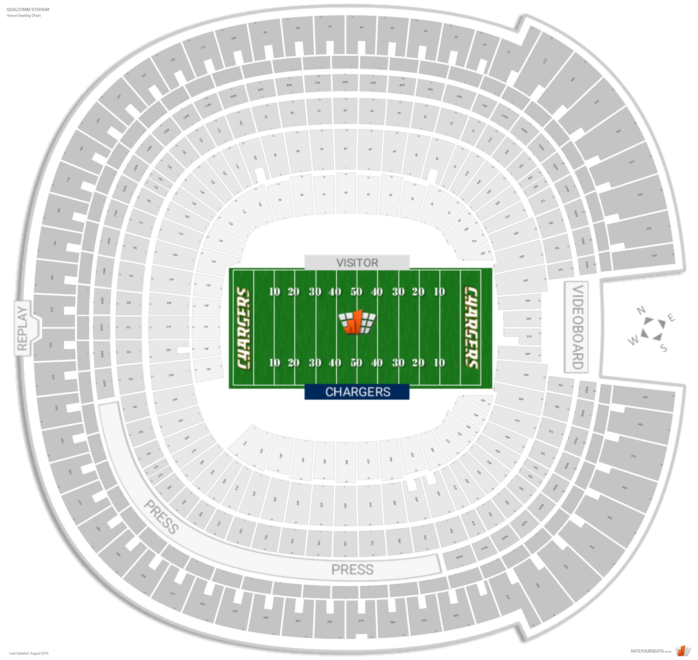 Sdccu Stadium San Diego State Seating Guide