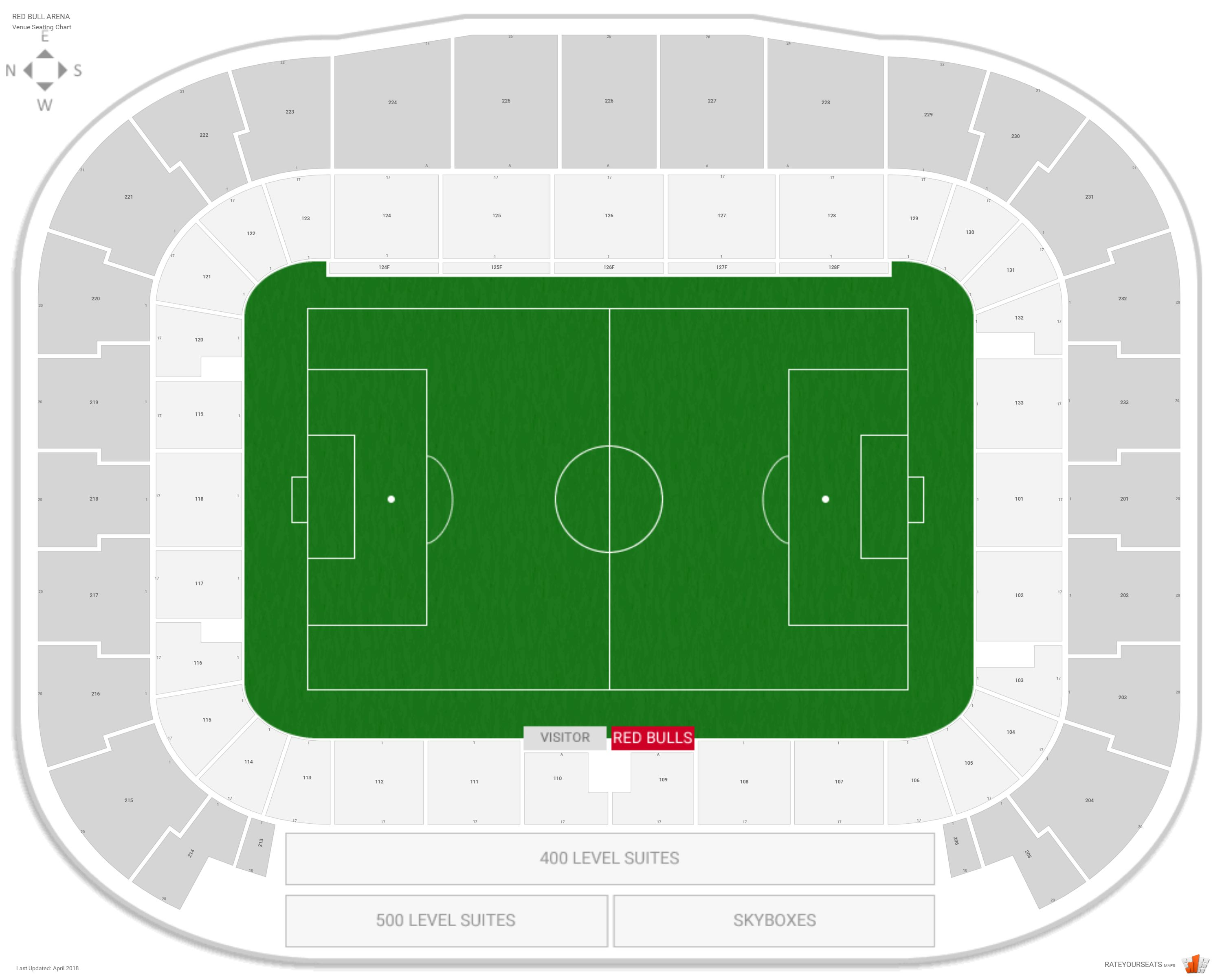 Red bull arena seating guide rateyourseats com