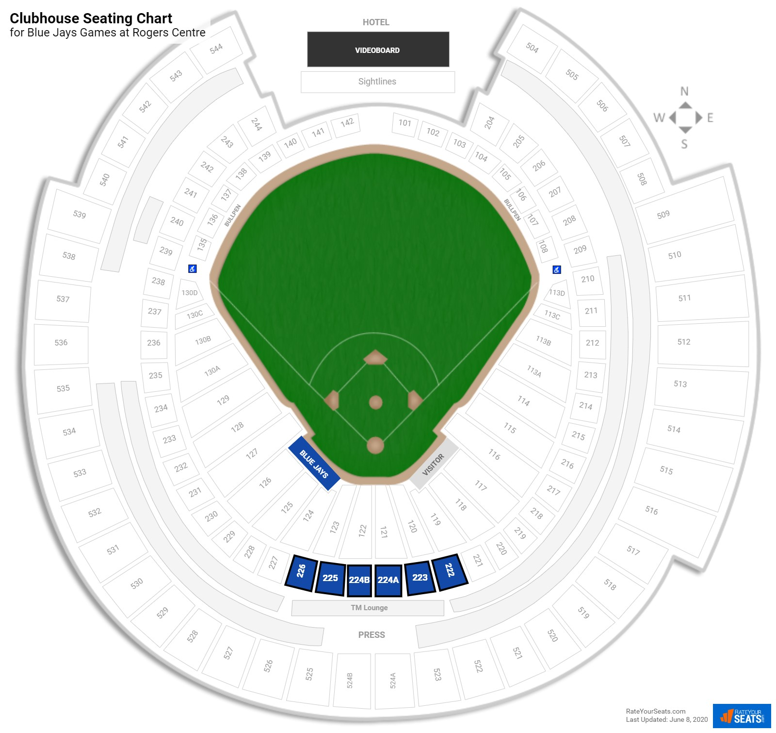 Comcast Cable Deals Denver: Rogers Centre Baseball Seating