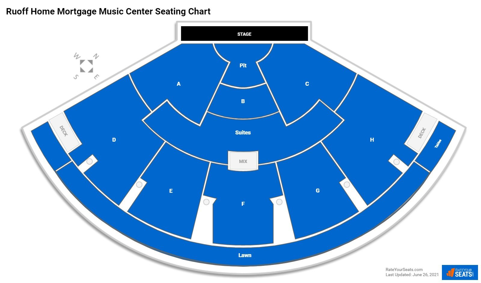 Ruoff Home Mortgage Music Center Seating Chart