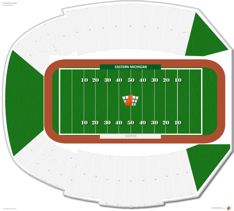 Central Michigan University Football Stadium Seating Chart