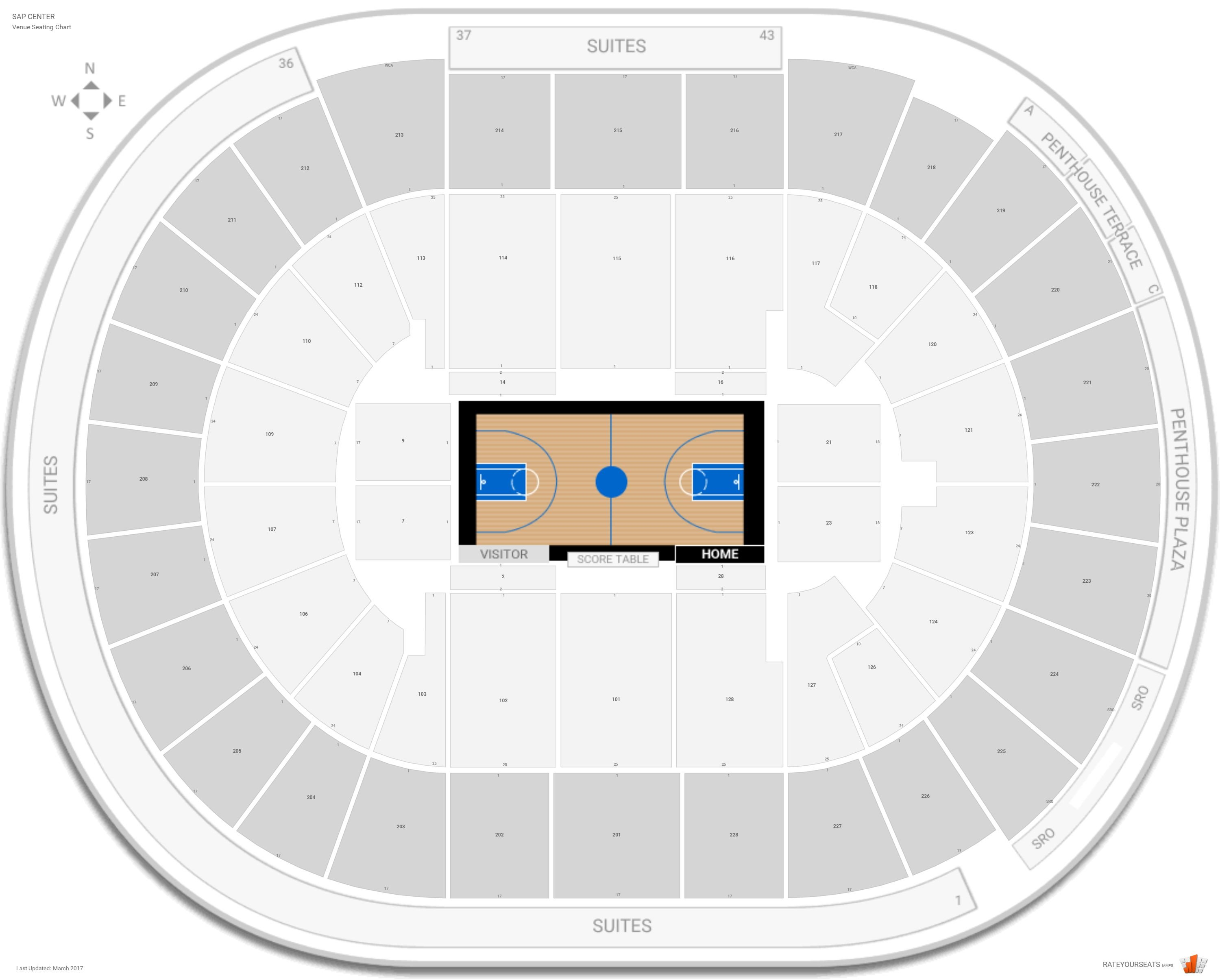 SAP Center Basketball Seating - RateYourSeats.com on sap center tickets, sap center san jose, sap center twitter, sap center santa clara, sap concert seating, sap center suites, sap center hotels, sap seating-chart hockey, sap theater seating, sap center events, sap center parking, sap center sharks seating-chart, sap center schedule,