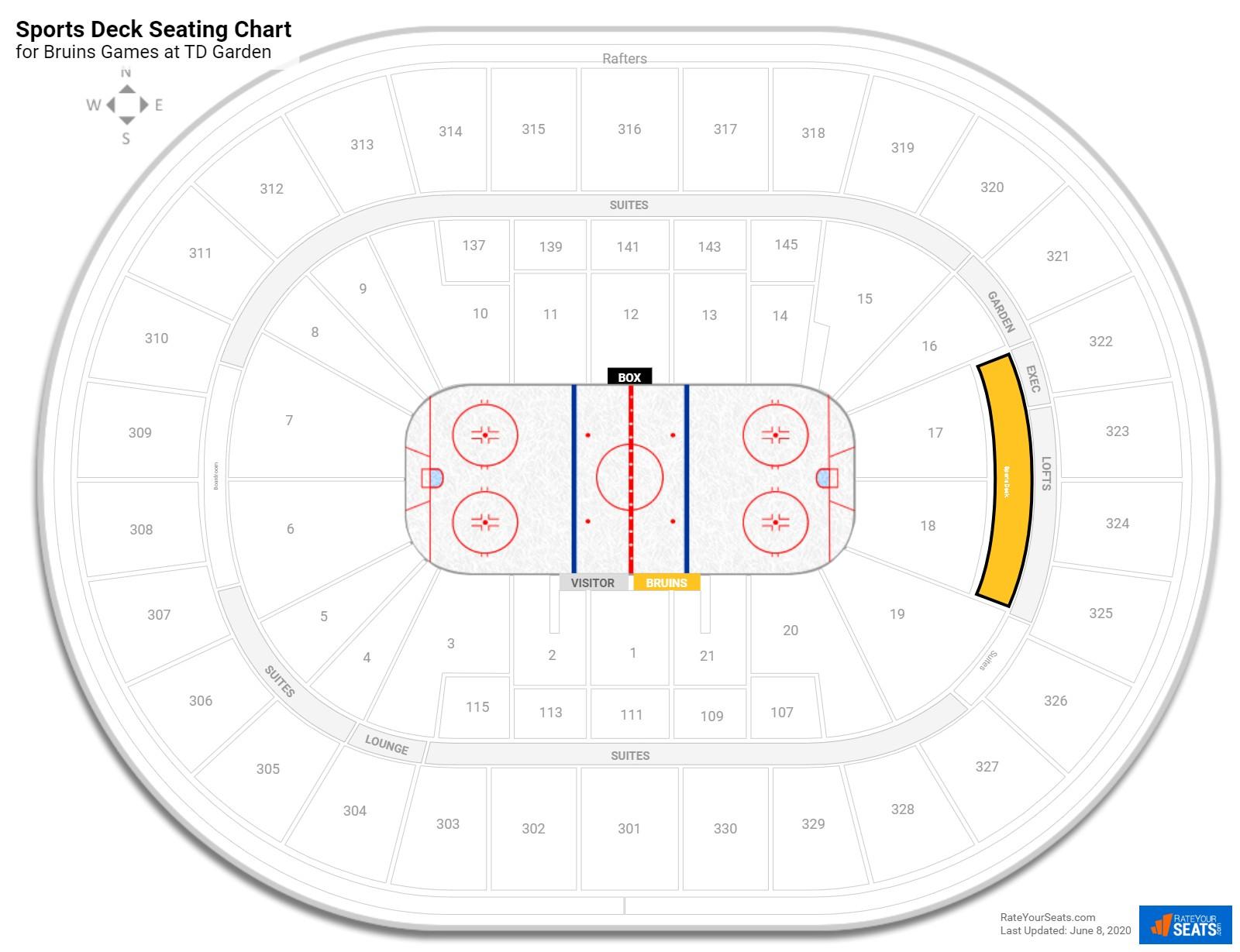 Boston Bruins Td Garden Seating Chart Best Idea Garden 2018