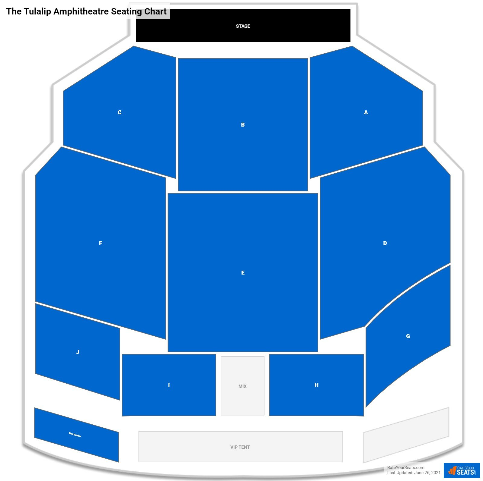 The Tulalip Amphitheatre Seating Chart