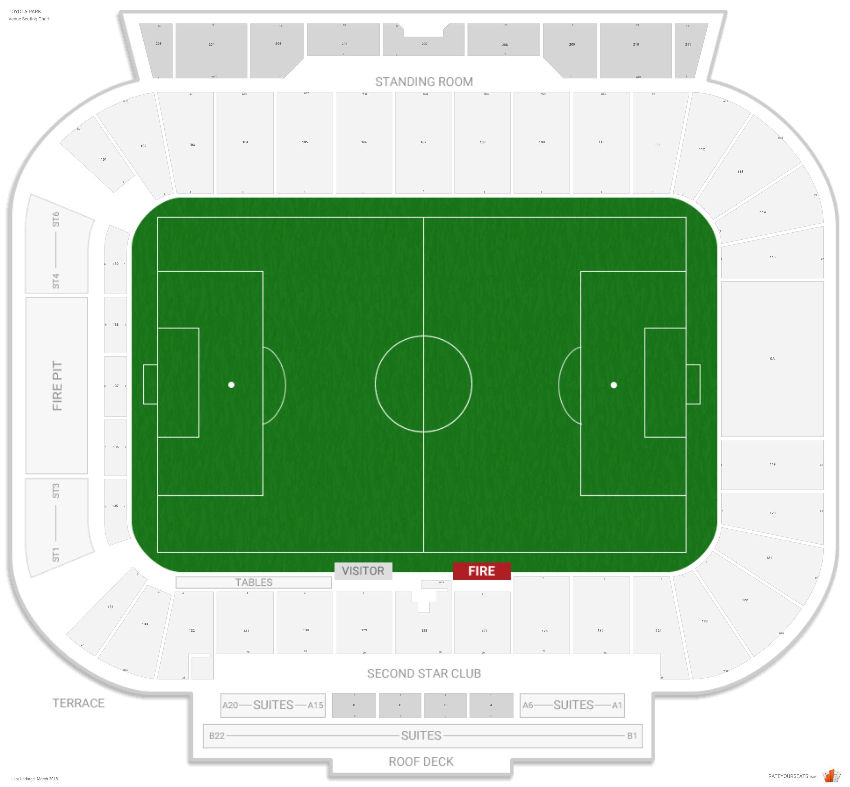 Seatgeek Stadium Seating Guide Rateyourseatscom