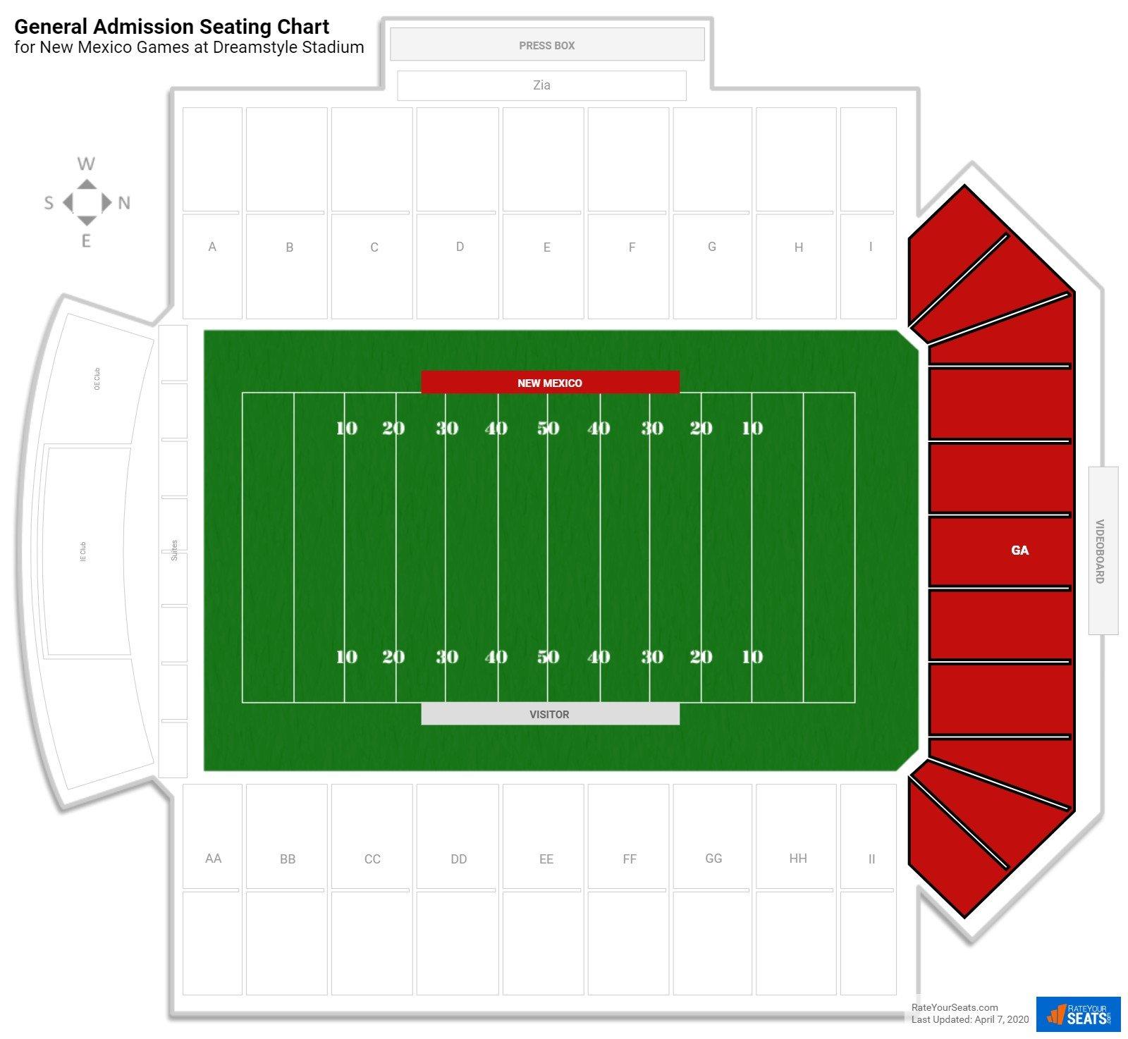 Location Of The New Warriors Stadium: University Stadium Football Seating
