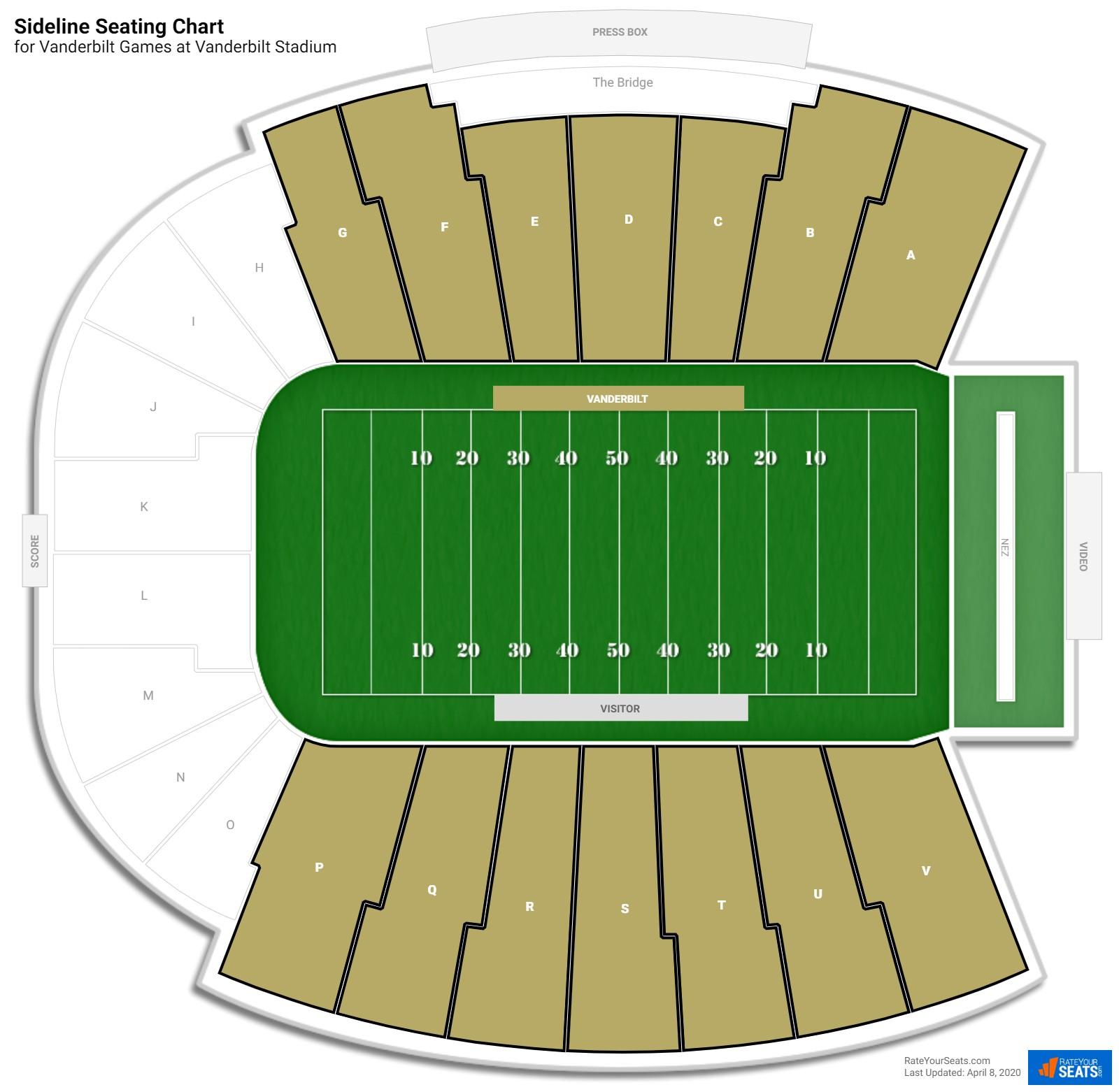 Vanderbilt Stadium Seating Brokeasshome Com
