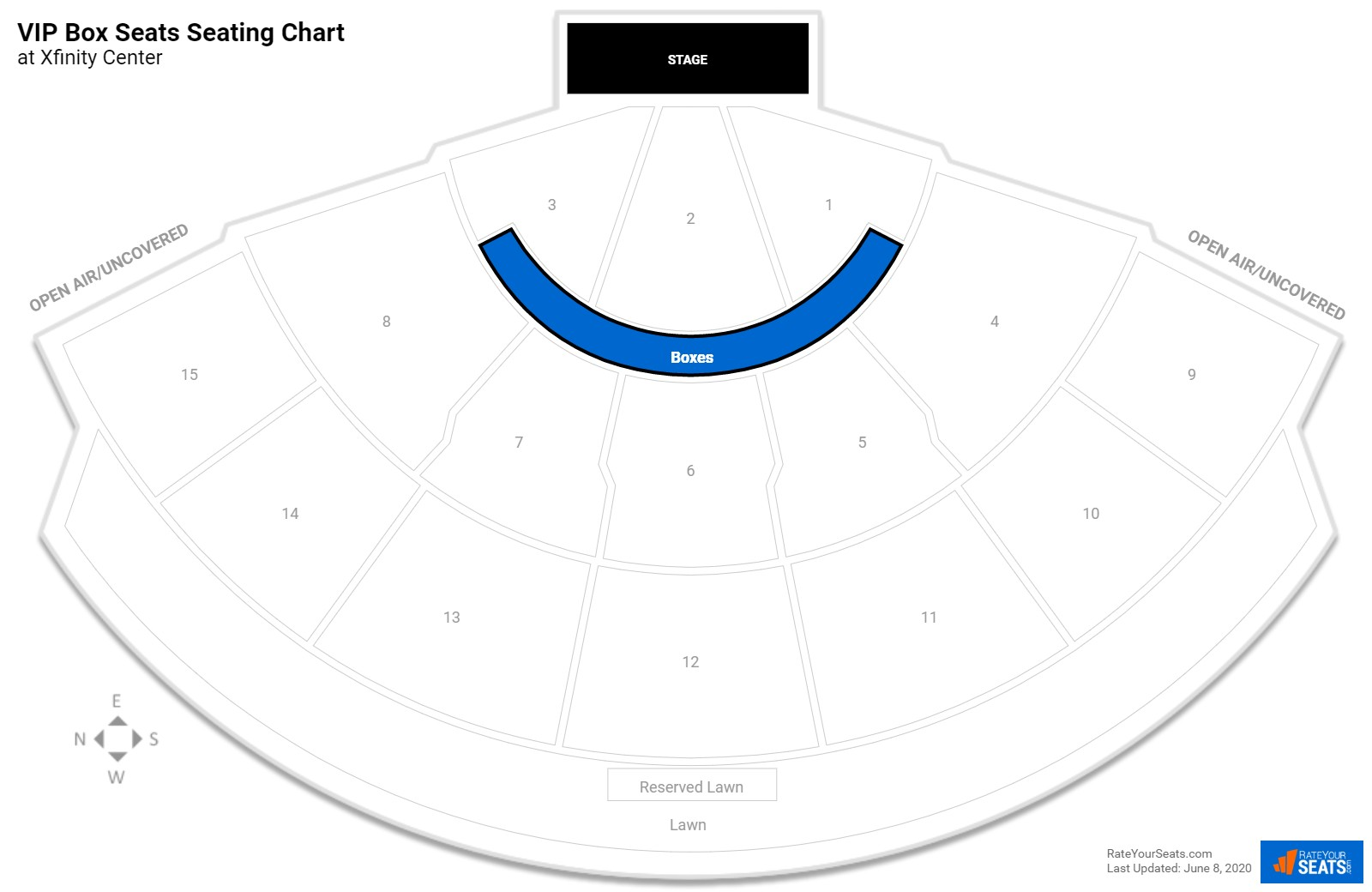 Virtual Seating Chart Comcast Center