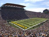Autzen Stadium football