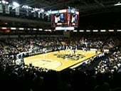 CFE Arena basketball