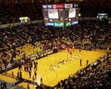 Crisler Center basketball