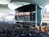 Jacobs Pavilion at Nautica concert