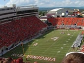 Lane Stadium football