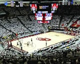 Lloyd Noble Center basketball