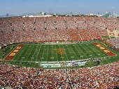 Los Angeles Memorial Coliseum football