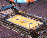 Lucas Oil Stadium basketball