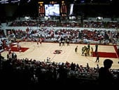 Maples Pavilion basketball
