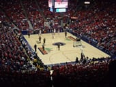 McKale Center basketball