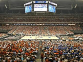 NRG Stadium basketball