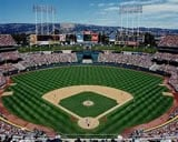 Oakland Coliseum baseball