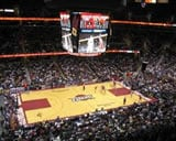 Quicken Loans Arena basketball